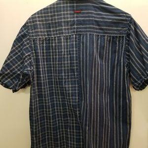 Fubu short sleeve button up shirt